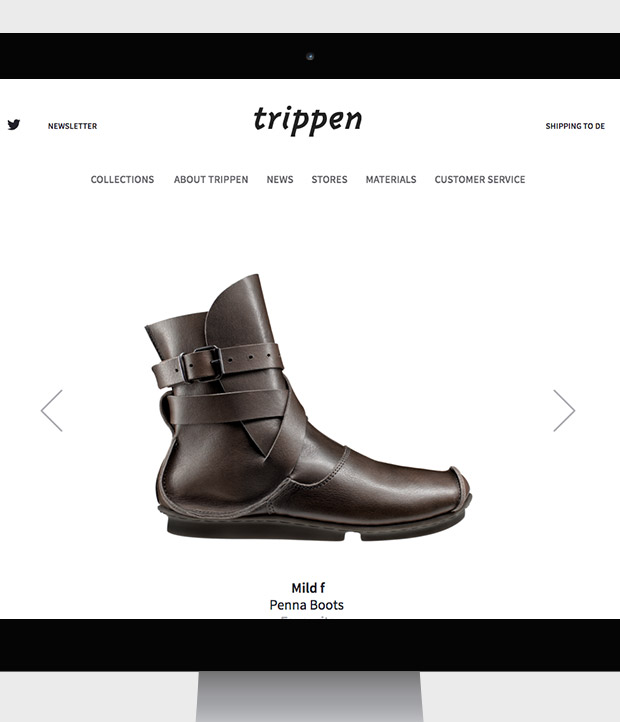 <strong>trippen</strong><br>footwear beyond mainstream