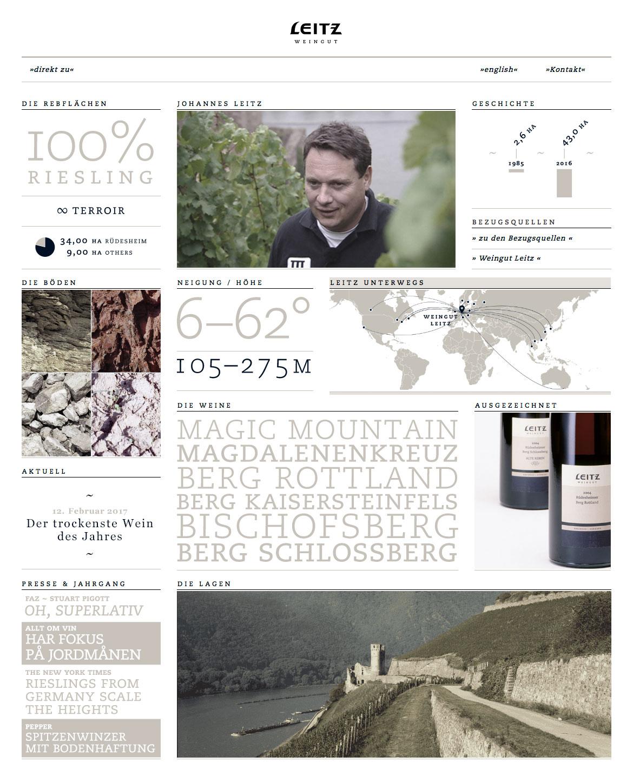 <strong>Weingut Josef Leitz</strong><br>Spitzenwein aus Rüdesheim